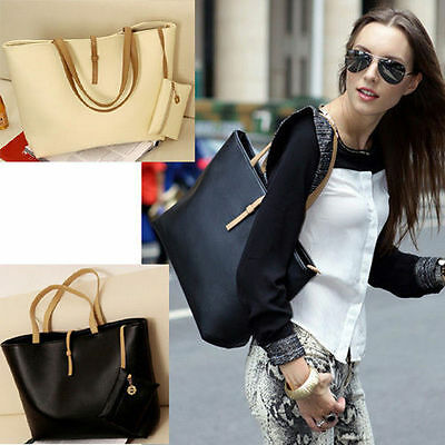 Hc Fashion Handbag Lady Shoulder Bag Tote Purse Pu Leather Women Messenger Hobo