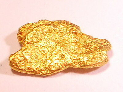 One Sparkling Australian Gold Nugget ( 0.33 grams).