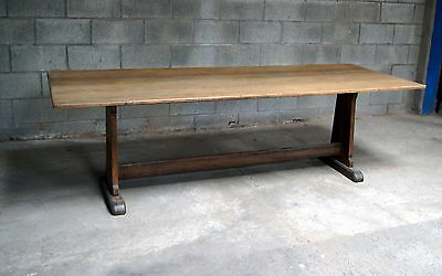 A good antique arts and crafts style refectory table