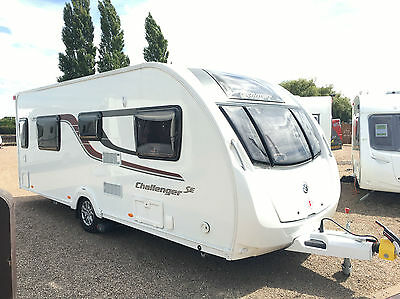 2015 Swift Challenger 565 Se - 4 Berth Touring Caravan Fixed Single Beds