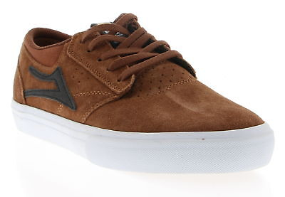 New With Box Men's LAKAI Brown Suede Skateboarding Shoes Size 9.5