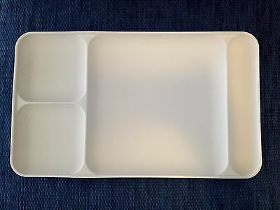 Tupperware Vintage Divided tray - beige.  Excellent condition!