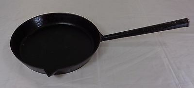 """Antique 19th Century 9"""" Inch Swain Cast Iron Frying Pan"""