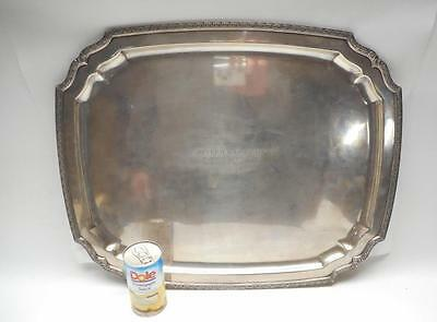 Authentic & Large  TIFFANY & CO Solid  Sterling Silver Tray for Tea Set  83+ OZ
