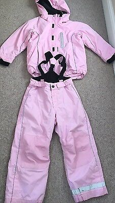Ski Costume Girls, Lovely Pink 5-6