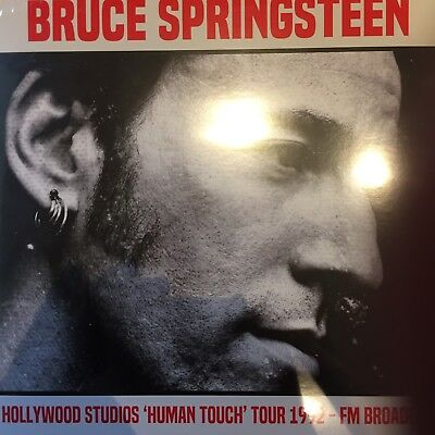 BRUCE SPRINGSTEEN 'Hollywood Studios Human Touch Tour 1992 FM Broadcast - 2 x LP