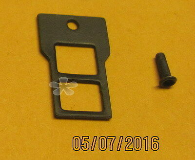 American Flyer Replacement 1-hole Step + eyelet for Alco Diesel