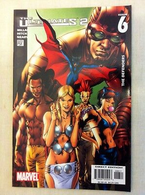 The Ultimates 2 The Defenders #6 Marvel First Print 2005 Millar, Hitch