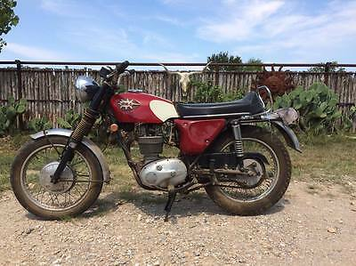 1969 BSA Shooting Star  1969 BSA Shooting Star Motorcycle Vintage All Original w/ Title Victor British