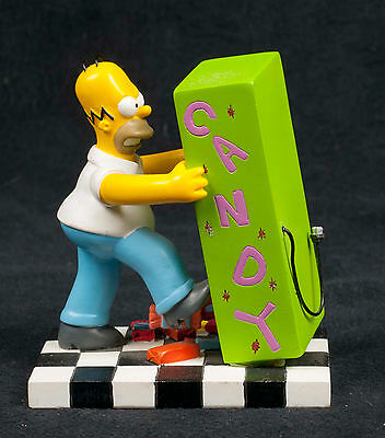Simpsons Misadventures Homer Snack Time Candy Hamilton Collection Sculpture