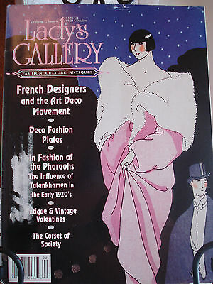 Vintage Fashions Magazine Features-French Designers & Art Deco Movement-1920's