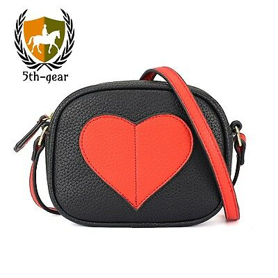 CMK Trendy Kids Mini Heart Shape Purse and Handbags for Little Girls Cross...