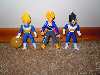 Dragon Ball Z 3 figure lot 2000/2001