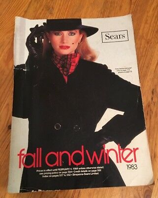 Sears Fall and Winter 1983 Catalog