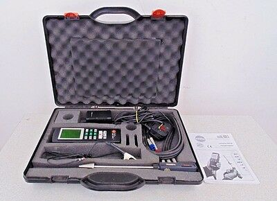 Testo 325-1 Combustion Flue Gas Analyzer Test Inspection Measurement Used