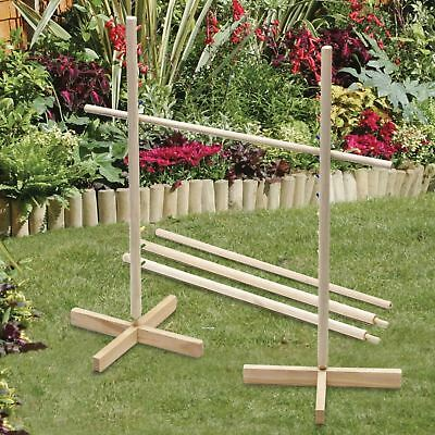 1.7M Tall Family Garden Limbo Game Outdoor Indoor Wooden Party Game