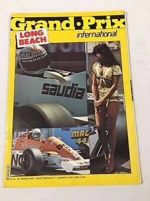 Grand Prix International Magazine No. 28, March 1981, Long Beach