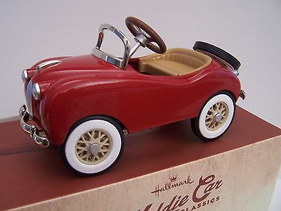 2015 Hallmark Kiddie Car Classics 1949 Gillham Sport Car Limited Edition Nib