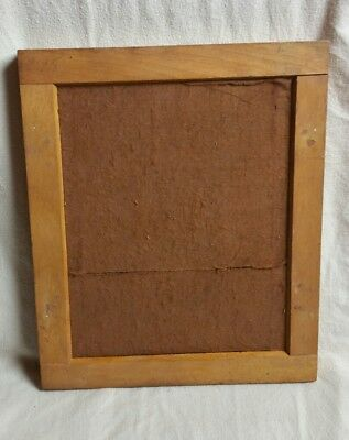 This is a antique 8 x 10 wood contact printing frame for glass plates 1880s