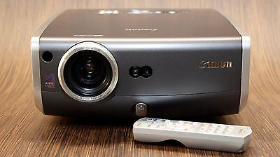 CANON REALiS X700 4000 LUMEN HD XGA LCOS DIGITAL PROJECTOR - WORKS PERFECT