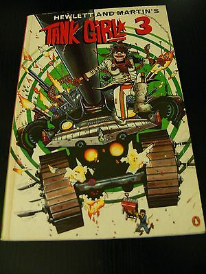 1996 1St Edition - Tank Girl Vol 3 - Graphic Novel - Jamie Hewlett (Gorillaz Art
