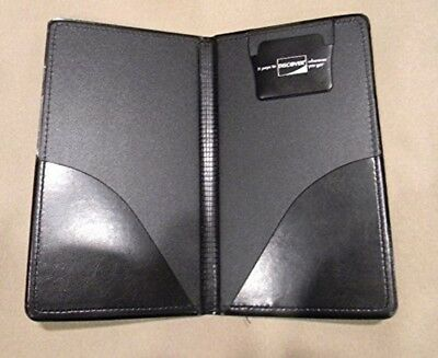 Waiter Book Wallet Presenter Checkbook Panel Waitstaff Restaurant Server Black