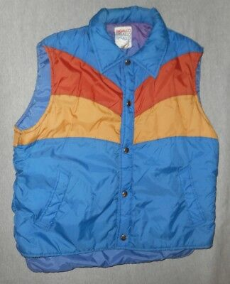 Mens Vintage 70's/80's Sigallo Ski Snow Vest*sz Med*great Condition*lots Of Pics