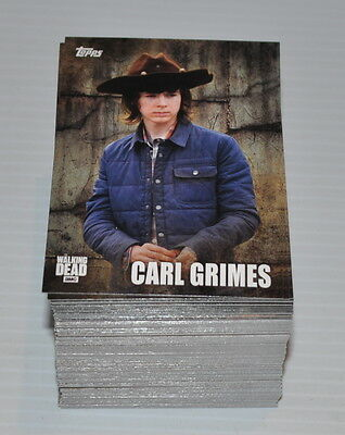 THE WALKING DEAD Season 5 Trading Cards lot TOPPS