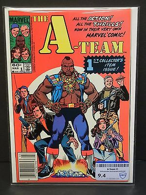 Marvel Comics A-Team #1 1984  Cbcs Raw Grade 9.4-1St Collector's Item Issue