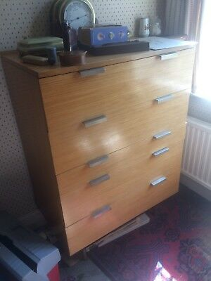 Stag Fineline Chest of Drawers by John & Sylvia Reid