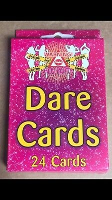 Novelty Hen Party Dare Cards