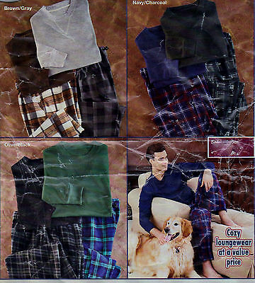 Men's Thermal And Fleece Pajama Set