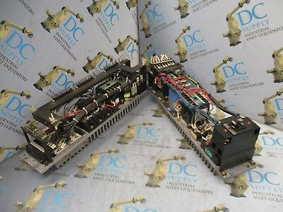 Okuma E0451-596-002 50 A ? 30 A  & 20203 50 A  Servo Drive Power Supply Lot Of 2