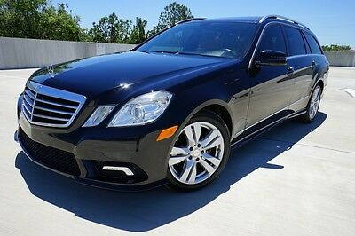 2011 Mercedes-Benz E-Class 4Matic Wagon Luxury Panoramic NAV Clean LQQK 2011 Mercedes-Benz E-Class E350 LUXURY 4MATIC Wagon CLEAN Loaded  LQQK