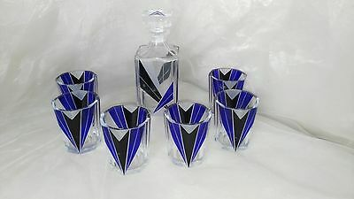 Karl Palda Art Deco Decanter Set