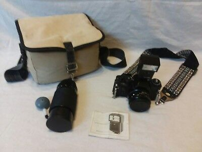 Sears KS super camera with carrying case and extras