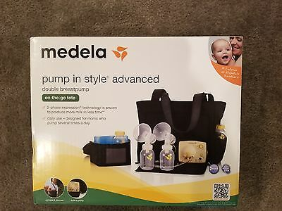 BRAND NEW Medela Pump in Style Advanced Double Breast Pump 57063
