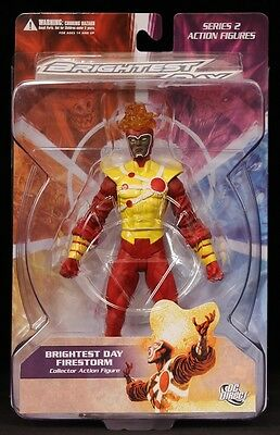 """2011 Dc Direct Toys Brightest Day Series 2 Firestorm 6"""" Action Figure Moc New"""