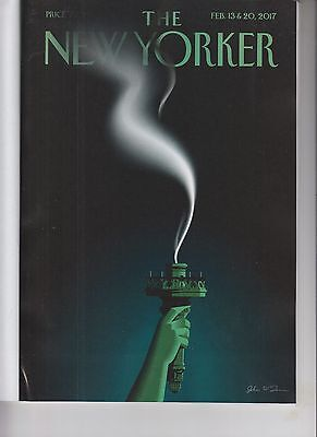 Liberty's Flameout The New Yorker Magazine February 13 2017 No Label Anti Trump