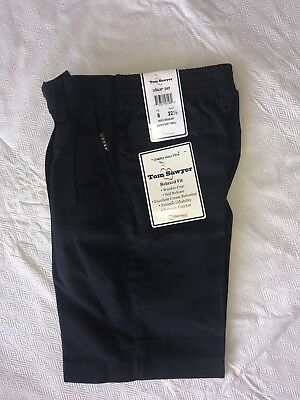 School Uniform boys navy shorts Tom Sawyer 6 10 NWT