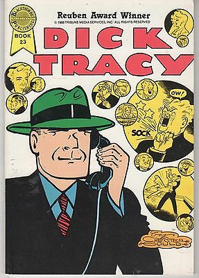 Blackthorne DICK TRACY Book 23 (1989) Chester Gould! Drug Addiction! 72 pages!