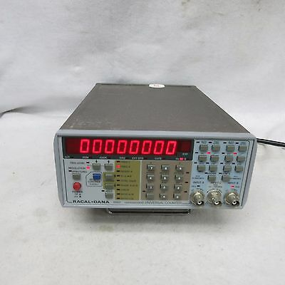 Racal Dana 1992 40 to 1300 MHz Nanosecond Universal Counter/Timer W/Opt 04E / 55