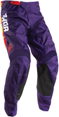 Thor Youth Pulse TYDY Pants Purple/Red 20 2903-1460
