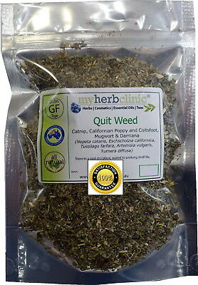 Quit Weed Organic Herbal Tea ~Catnip Californian Poppy Coltsfoot Mugwort Damiana