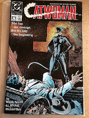 #2 Of 4 - CATWOMAN - DC 1989