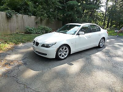 2009 BMW 5-Series 535i auto 535 I Sport Automatic,one owner,California car, twin turbo Premium Sport package