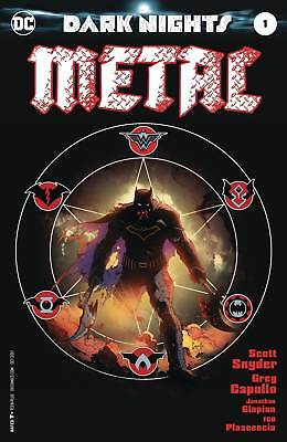 Dark Nights Metal #1 Midnight Release NM/VF 1st Print SOLD OUT DC Comics