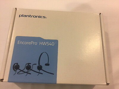 *** Plantronics HW540 EncorePro Convertible Headset ***