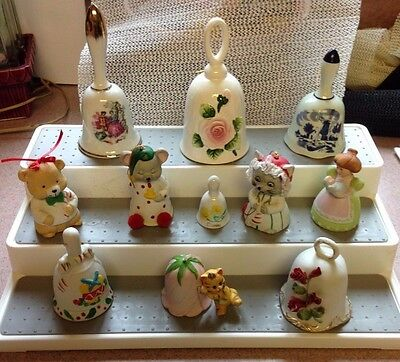 Bells Collectable Ceramic, Porcelain, Bone China Variety of Eleven