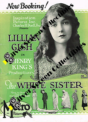 Lillian Gish - The White Sister - Vintage Promotional Brochure